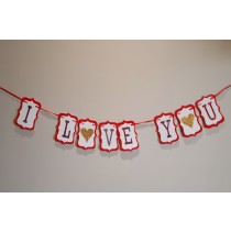 Bunting - I love you