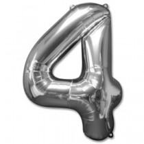 """Numeric 4 Foil Balloon 24 """""""