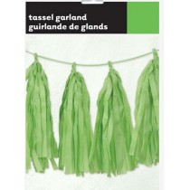 Green Decorative Tassel