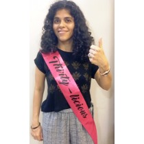 30th Birthday Sash