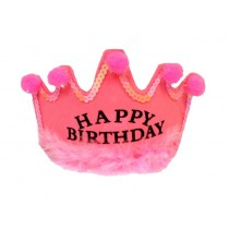 Happy Birthday Tiara Pink