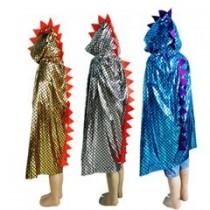 Dinosaur Cape - Assorted Metallic Colours