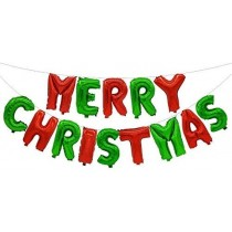 Foil - Merry Christmas Letters