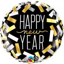 Happy New Year Anagram Foil Balloon 18 inch