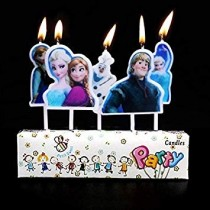 Candle - Frozen ( Set of 5 )
