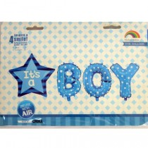 It's a Boy Letter Foil Balloon