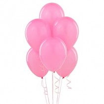 Pink Pearl Latex Balloons- set of 10