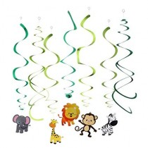 Swirls - Animal ( Set of 12 )
