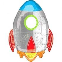 Foil - Space Tyheme Rocket 29inch