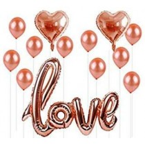 Love Letter Foil Balloon Set