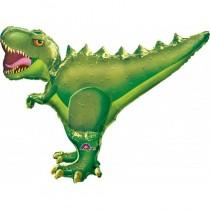 Dinosaur Foil Balloon - Velociraptor