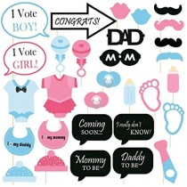 Photo Stick Set - Baby Shower ( Set of 25 )