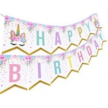 Unicorn Birthday Bunting