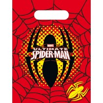 Spiderman Party Bags (set of 6)