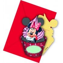 Minnie Invitation Cards (set of 6)