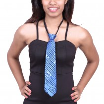 Sequence Cloth Ties - Blue