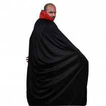 Red and Black Dracula Cape