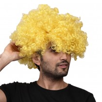 Blond Afro Wig