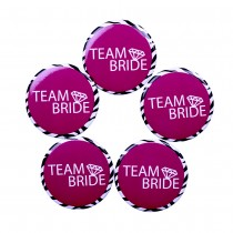 Team Bride Badge(set of 5)