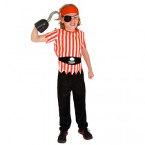Pirate Child Costume ( 8-10 Age )