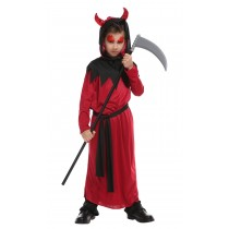 Red Devil Halloween Costume - (Size XL 7-9years)
