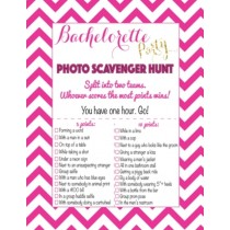 Photo Scavenger Bachelorette Game ( set of 6 )