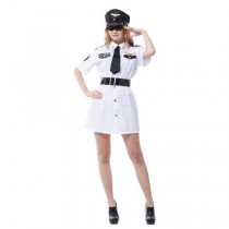 Sexy Captain Lady Costume