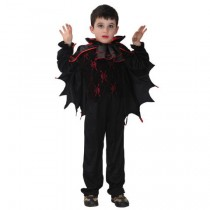 Vampire Boy Halloween Costume ( 7-9 years XL Size)