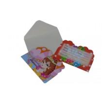Princess Invitation Card (Set of 8)