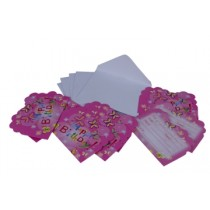 Butterfly Invitation Card (Set of 8)