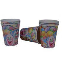 Clown Cups (Set of 8)