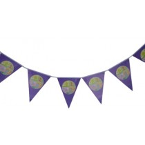 1st Birthday Triangular banner