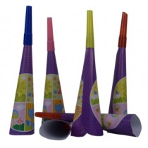 1st Birthday Blow Horns (Set of 6)