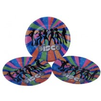 Disco Plates (Set of 8)