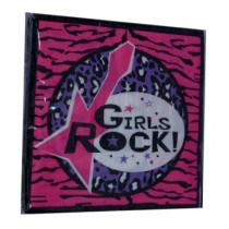 Girls Rock Napkins (Set of 20)