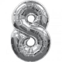 """Numeric 8 Foil Balloon 24"""""""
