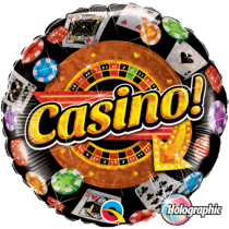 Casino Foil Balloon 18''