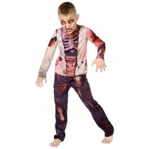 Costume - Zombie Boy ( 5 - 7 years Size L )