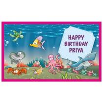 Under Water Theme Banner