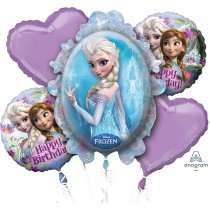 Frozen Princess Foil Balloon Set