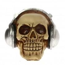 Halloween Skull Decoration - Music