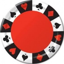 Casino Plates (set of 10)