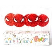 Candle - Spiderman ( Set of 5 )
