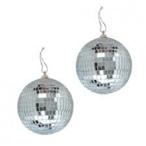Mirror Disco Ball ( Set of 2 )