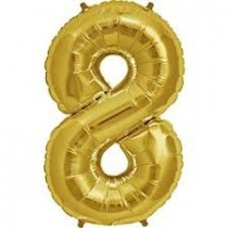 8 - Gold Foil Balloon 40 Inches