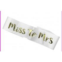 Sash - Miss To Mrs