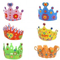 Kids Foam Crown - DIY (set of 3)