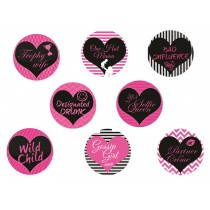 Friends Badge Set ( set of 8)