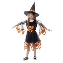 Moderns Witch Child Costume (7- 9 Age)