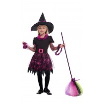 Elegent Witch Halloween Costume ( 7- 9 years  Size XL)